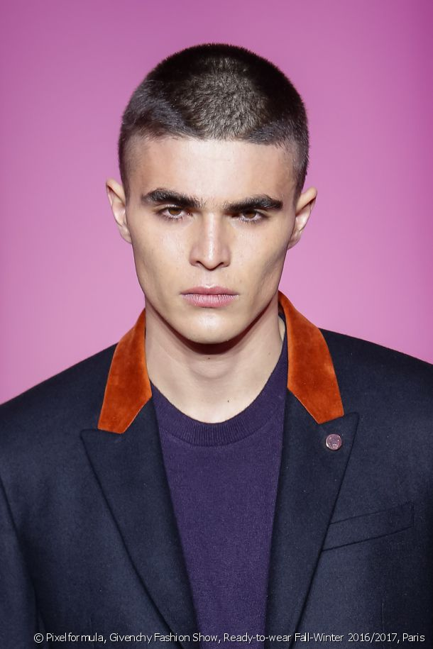 Dare to go for the crew cut, both a practical and on-trend haircut.