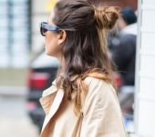 Why give in to the half-bun trend?