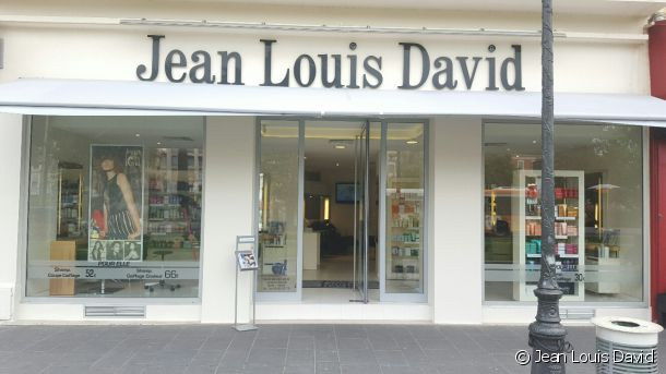 The Jean Louis David salon in Nice