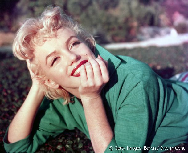 Marilyn Monroe also succumbed to platinum blond.