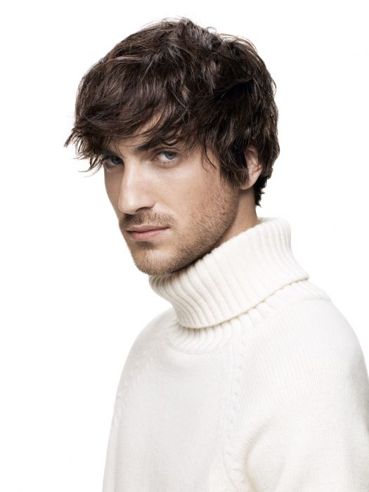This season at Jean Louis David, men are getting a good/bad boy look thanks to this extremely versatile haircut