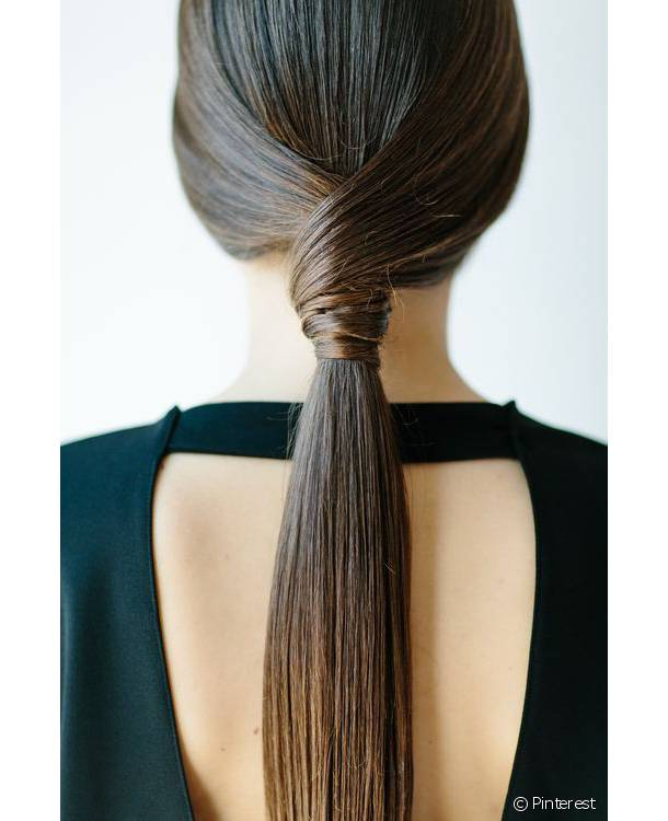 [PINTEREST] The most beautiful ponytails for long hair