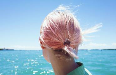 Coloured hair trends... multi-coloured, brightly coloured and fluorescent shades