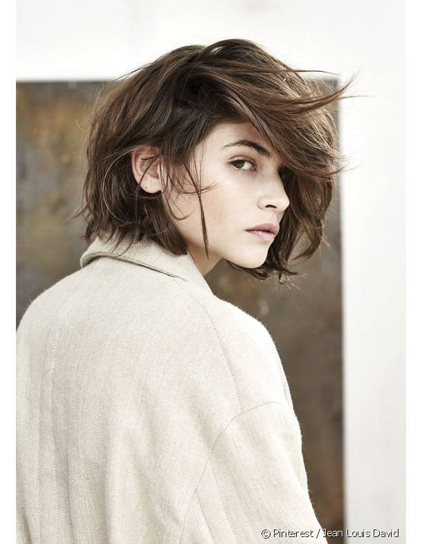 The asymmetrical bob on Pinterest