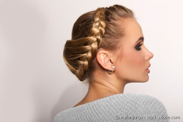 Find out how to create this highly sophisticated bun!
