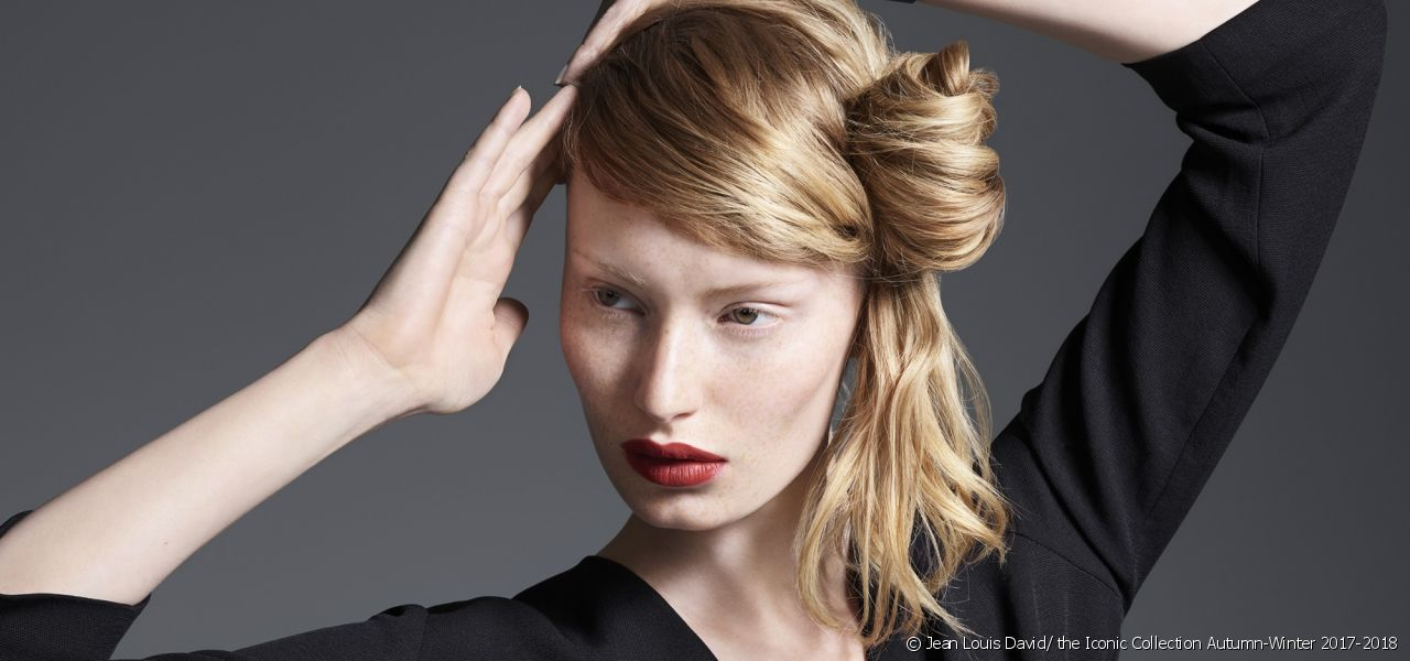 Go for the new rock chick chignon from the Style Bar