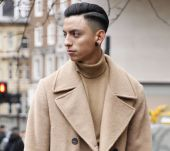 Men's hairstyles: how should you part your hair this season?
