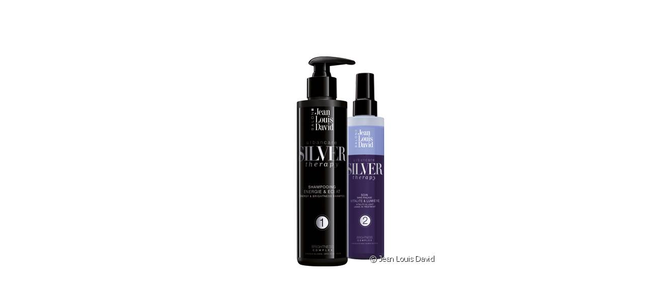 The Silver Therapy range's promise? To eliminate yellow highlights and to protect your hair.