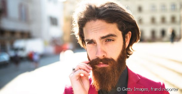 Take a closer look at the long beard and mid-length hair combo.