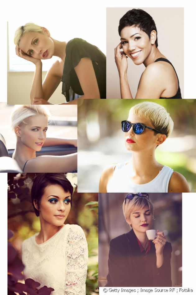 Proof that women with short hair are also very feminine!