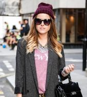 Streetstyle: A wavy dip-dye for faultless hair