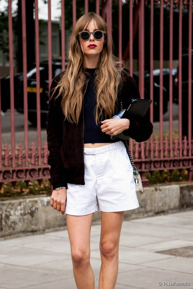 Streetstyle: Long, wavy hair, oh-so-chic!