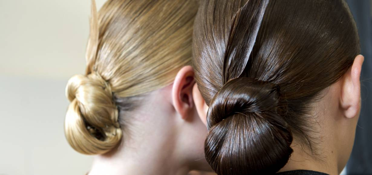 The fan chignon