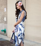 Streetstyle: how to wear flowers in your hair