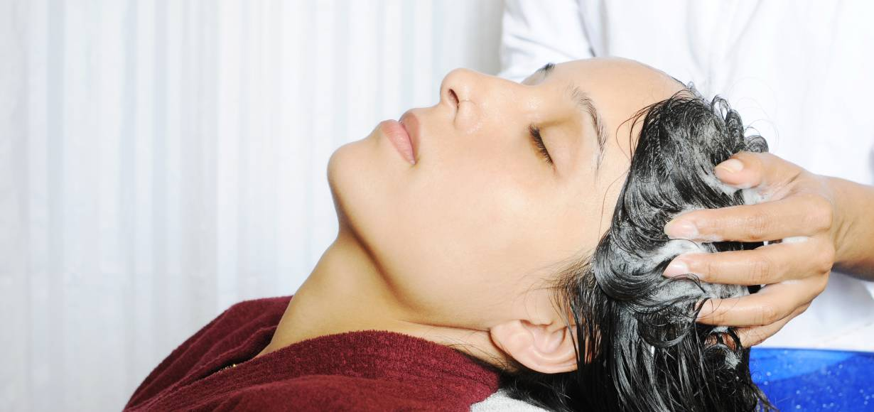 Massage your scalp to promote hair growth