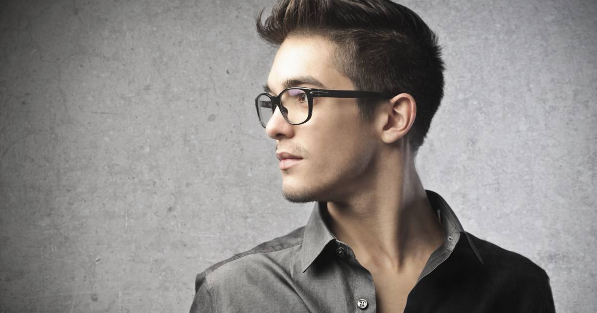 Men How To Style Your Hair With Glasses