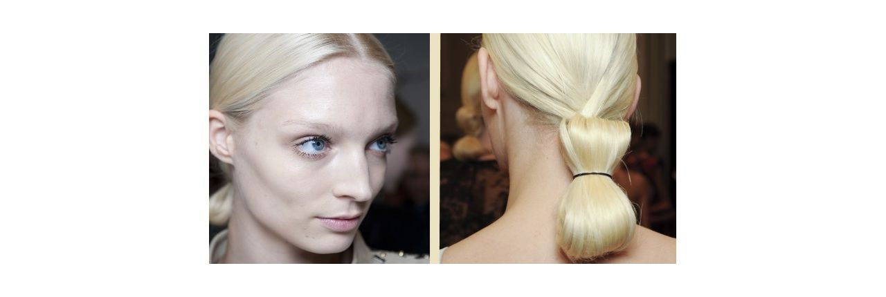 Preppy style: the hair bow