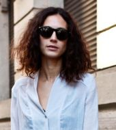 Streetstyle: Looking after dry, curly hair