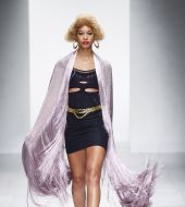 Spotted on the catwalks: the bleached afro
