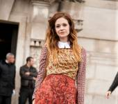 Streetstyle: the dip dye for redheads