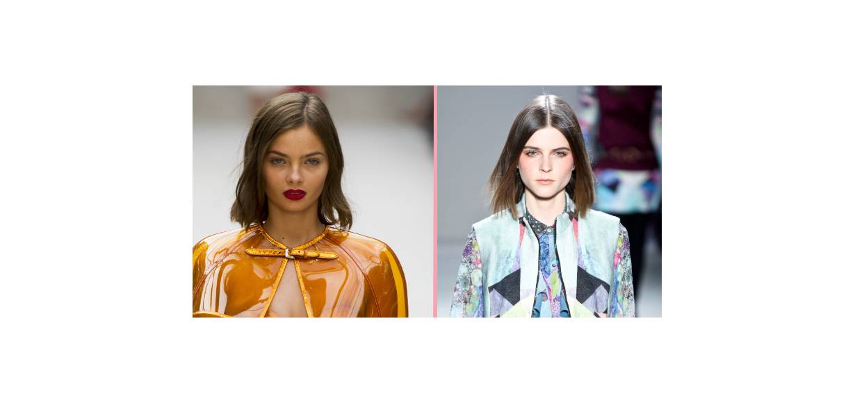 Hairstyle head-to-head: the strict bob vs. the wavy bob