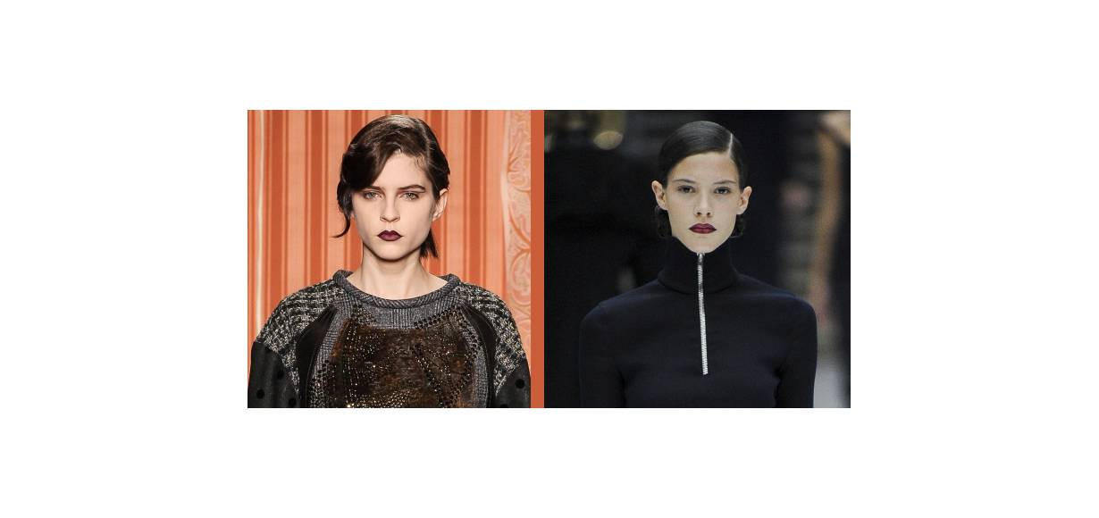 Hairstyle head-to-head: the curly side fringe VS the strict side fringe