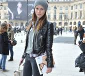 Streetstyle: Wearing a beanie with your long hair