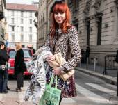 Streetstyle: hairbands with red hair
