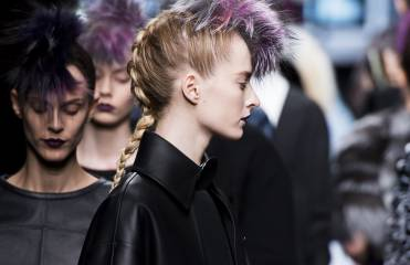 African-inspired plaits spotted on the catwalk