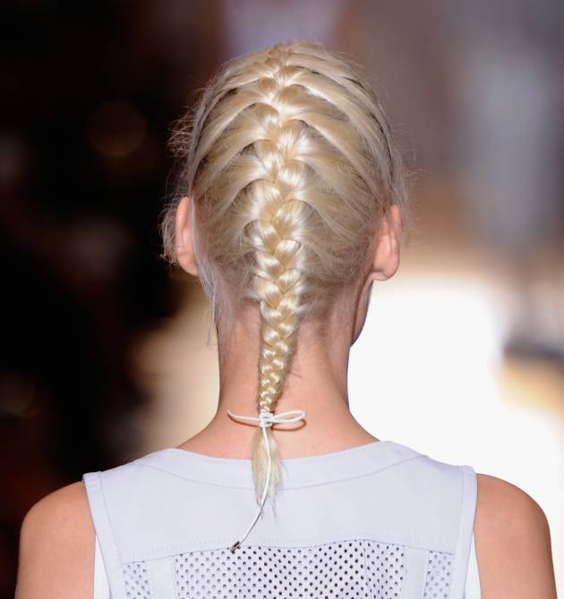 The neat braid VS the hippy-chic plait