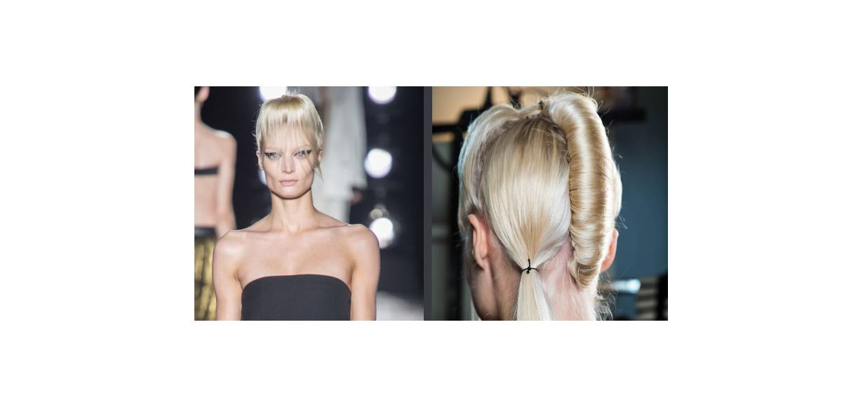 Runway to reality: the 2-in-1 hairstyle