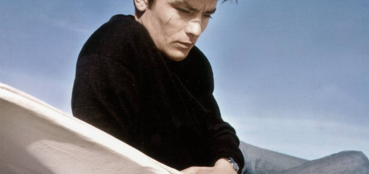 Alain Delon's hairstyle makes a comeback!