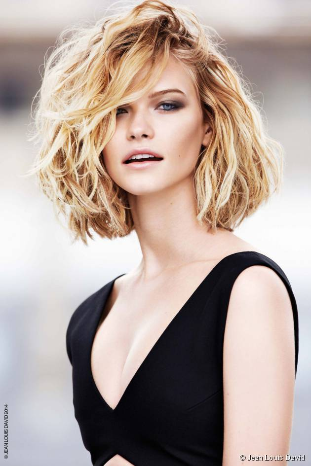Which techniques should I be using to create a wavy bob