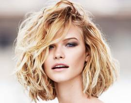 Which techniques should I be using to create a wavy bob?