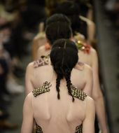 Is the knotted double-braid this season's must-have look?