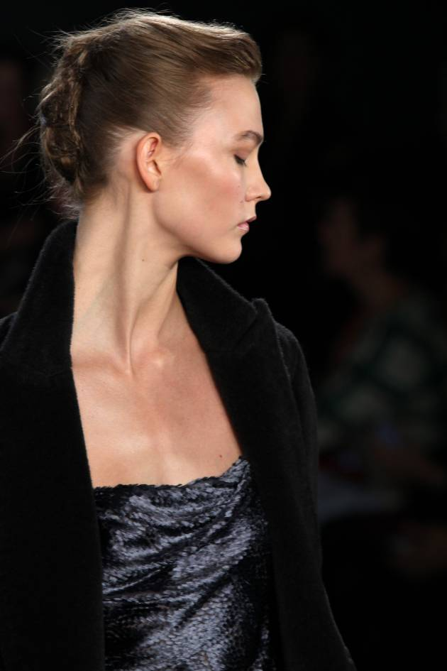 Hair how-to: Jason Wu's bird's nest chignon