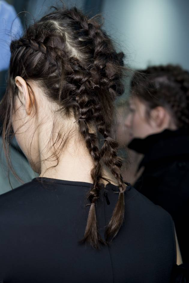 Step-by-step: Simone Rocha's intertwined braids