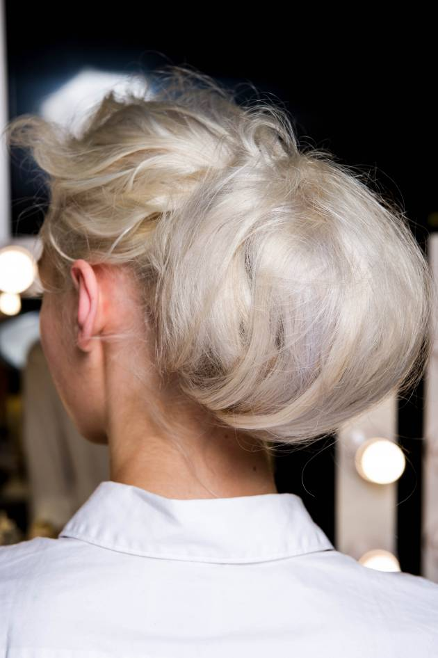 The statement chignon: sophisticated and original