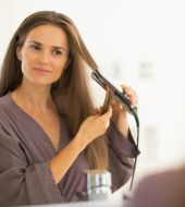 Protect your hair from straightening damage