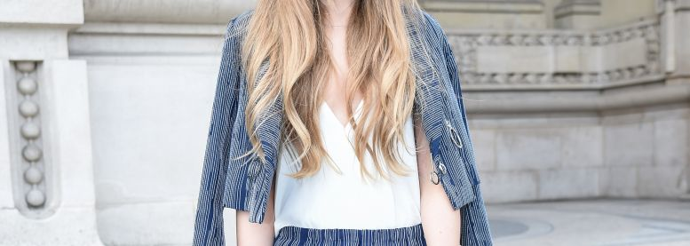 Streetstyle: wavy lengths for long locks