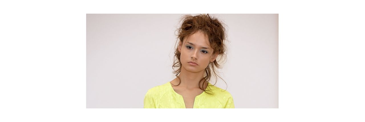 Fashion Week Find: messy curls
