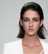 Runway fashion find: the wet-look bob