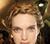 Braided crown or herringbone braid