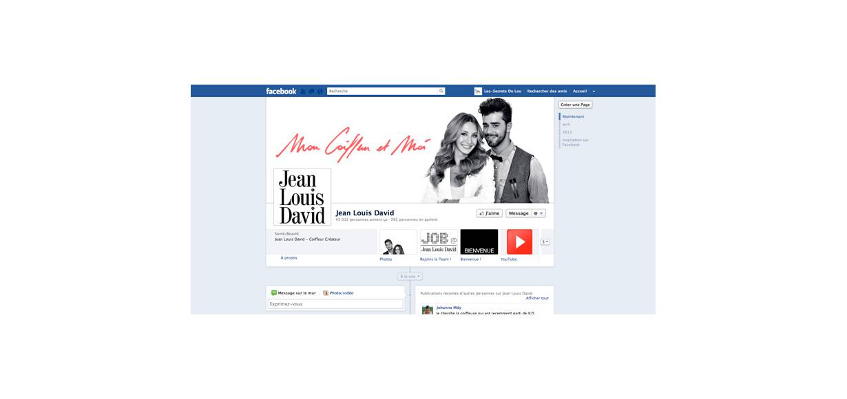 Join the Jean Louis David community on Facebook