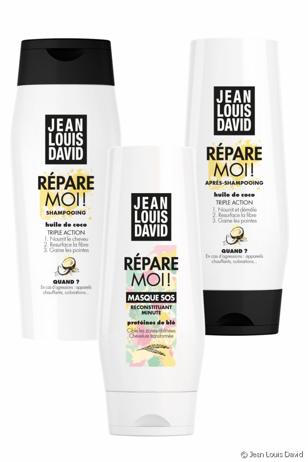 The Repair Me! range restores damaged hair