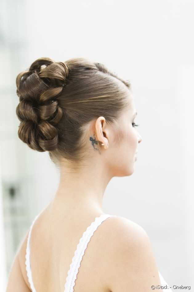 Birthdays, weddings, Christenings... Find the perfect chignon for every occasion