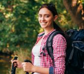 Keeping your hair perfectly styled whilst hiking
