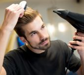 Blow-drying - for men!