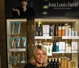 'I chose Jean Louis David for its energy and modernity' Marjorie Mathias