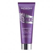 Enriched with sapphire powder,  GO BLONDIE  shampoo neutralises yellow tones in blonde, white or grey hair. Its precious formula, based on purple...
